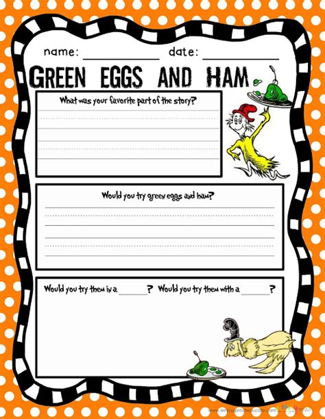 green eggs and ham template dr seuss activities for christian parenting