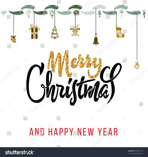 merry happy new year 2017 stock vector 529347139