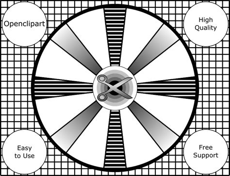 test pattern svg clipart retro test pattern