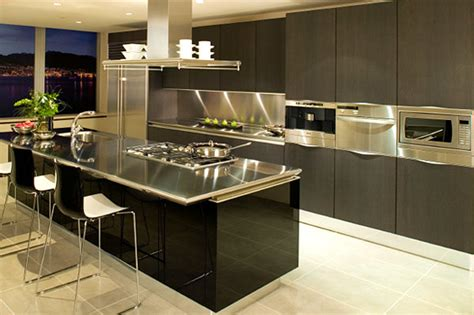 New Modern Kitchen Design by 15 Contemporary Kitchen Designs With Stainless Steel