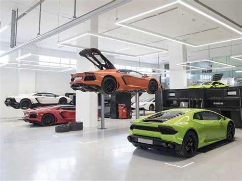 lamborghini showroom building lamborghini opens new showroom in dubai drivespark news
