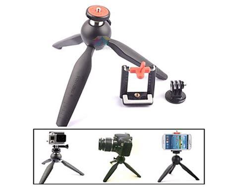 Tripod Yunteng yunteng 228 mini tripod with phone holder self tripod for