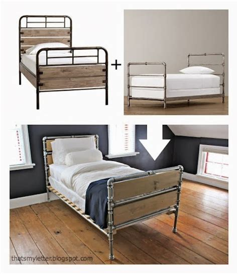 pipe bed frame diy plumbing pipe bed frame bob vila