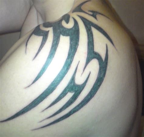 tribal tattoos for back and shoulders 61 tribal shoulder tattoos