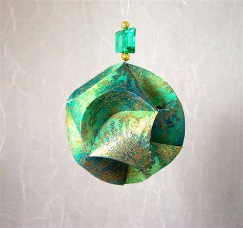 paper christmas ornament  daisyandflorrie