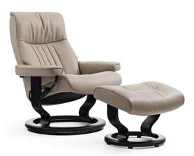 crown m recliner office chair by stressless in stock