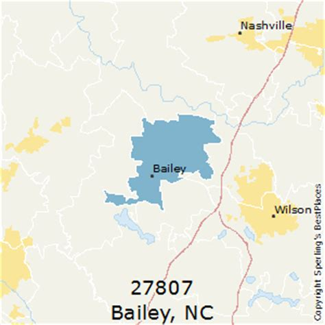 best places to live in bailey (zip 27807), north carolina