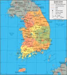 South Korea World Map by Soyoung The Kpopers Korean Info Republic Of Korea Rok