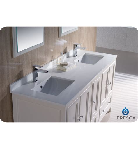 white bathroom vanity bathroom traditional with double fresca oxford collection 60 quot antique white traditional