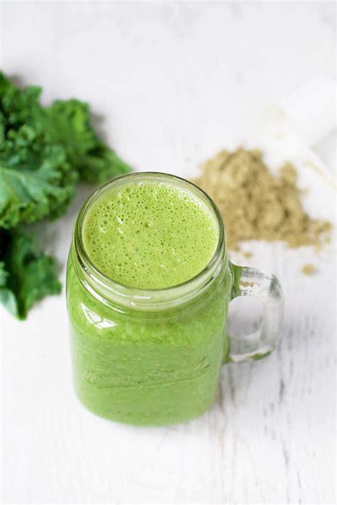 protein green smoothie green protein smoothie spinach for breakfast