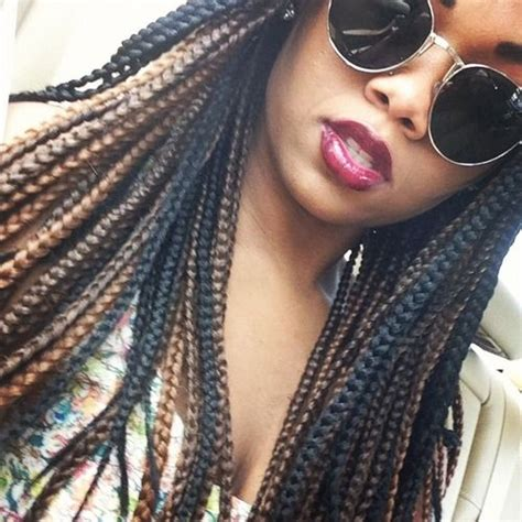 how to do ombre box braids ombre box braids hair pinterest ombre colors