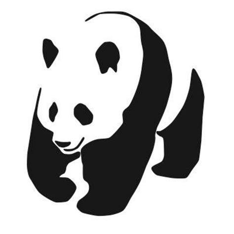 panda tattoo template panda stencils silhouette voorbeelden enz pinterest