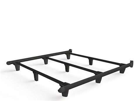 bed frame glides embrace king bed frame w glides black black raymour