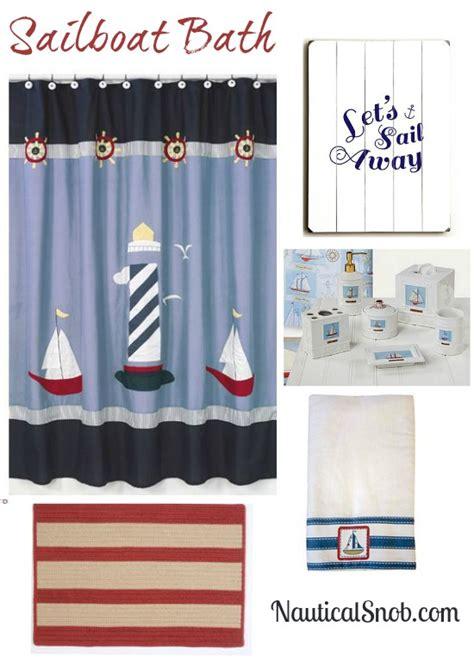 Sailboat Bathroom Accessories Sailboat Bathroom Design Nautical Snob