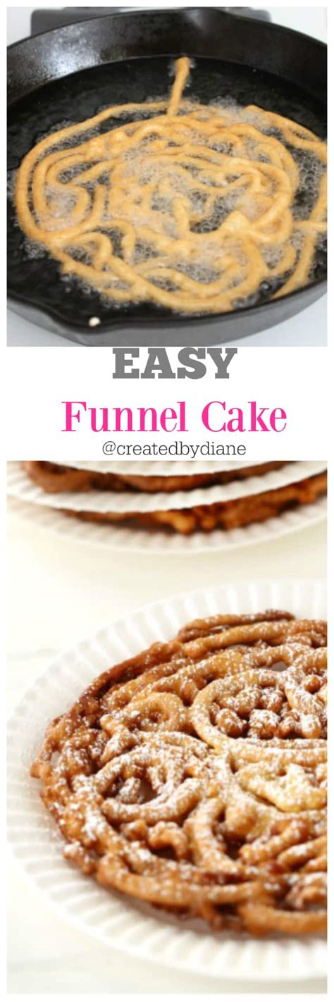 28 how to make funnel cake at home fair food