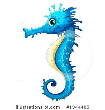 clipart royalty free seahorse clipart 1344485 illustration by graphics rf