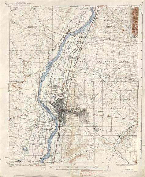 topographic map mexico new mexico historical topographic maps perry casta 241 eda