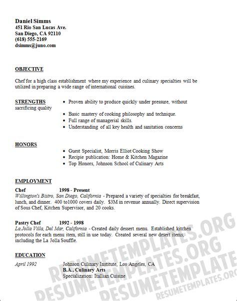 Caterer resume template   Download Catering CV samples for