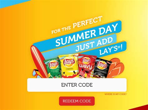 The View 20 Day Vacation Giveaway - lay s summer days sweepstakes code required