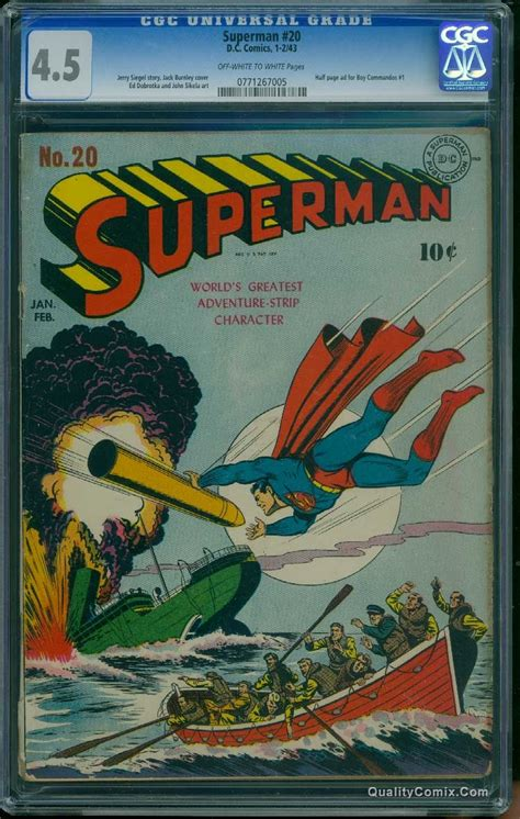 superman comic book pictures superman comic book values and prices issues 11 20