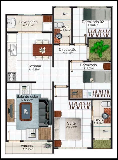 Jf 6x15 1 planos de casas pequenas pictures to pin on