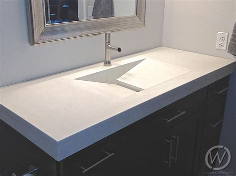how to make a concrete sink for bathroom concrete trough sinks