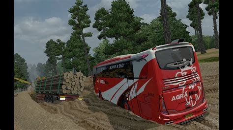 game ets2 mod bus indonesia agra mas scania off road ets2 bus mod indonesia youtube