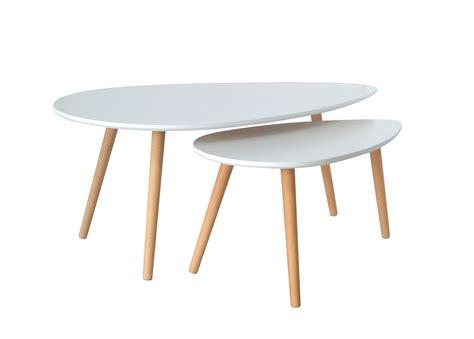 Table De Salon Scandinave by Deco In Table Basse Scandinave Blanc Avesta Avesta