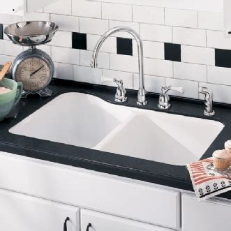 silhouette 33 double bowl kitchen sink american standard silhouette 33 quot double bowl kitchen sink
