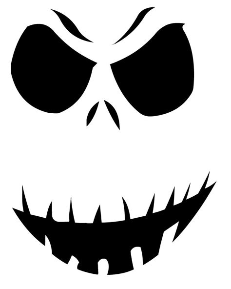 pumpkin carving stencils templates 14 unique skellington pumpkin stencil patterns