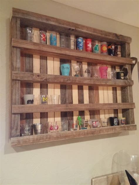 shot glass holder this 29 inch 215 24 inch rustic reclaimed wood is the