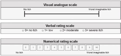 vas scale assessment of pruritus intensity prospective study on