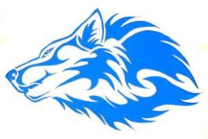 wolf stencil clipart best