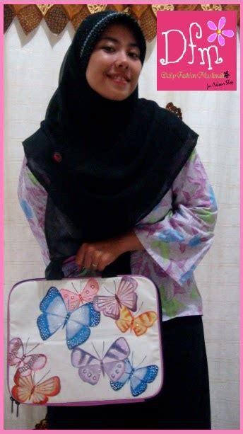 Tas Fashion Lukis 2 daily fashion muslimah tas laptop lukis