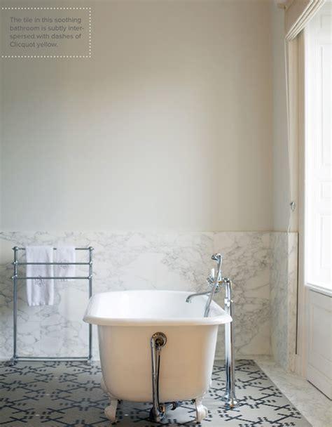 marc bathroom white marble bath and free standing tub