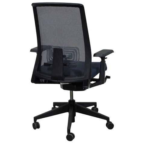 Haworth Chair by Haworth Lively Used Mesh Back Task Chair Gray National