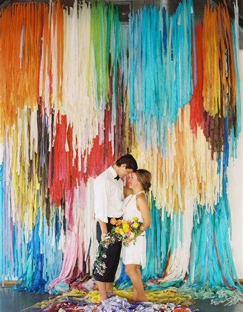 Wedding Backdrop Alternatives by 30 Alternative Wedding Backdrops Home Design
