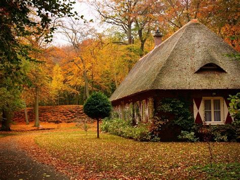 Cottage Wallpapers by Autumn Cottage Autumn Cottage Nature Fields Hd Desktop