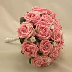 wedding flower arrangements roses beautiful pink wedding flowers