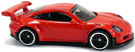 Hotwheels Porsche porsche 911 gt3 rs 72mm 2016 wheels newsletter