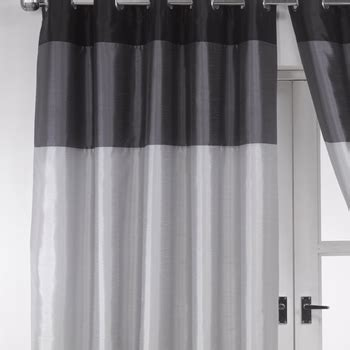 black and silver kitchen curtains vienna tri coloured eyelet curtains eyelet curtains curtains linen4less co uk