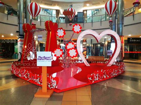 Home Decoration For Christmas pipal art mall decorations