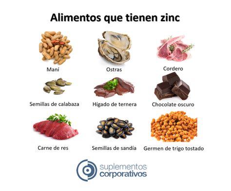 que alimentos contienen zinc beneficios zinc y alimentos que lo contienen hoy