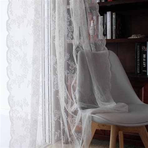 white lace kitchen curtains popular lace curtains buy cheap lace curtains lots from