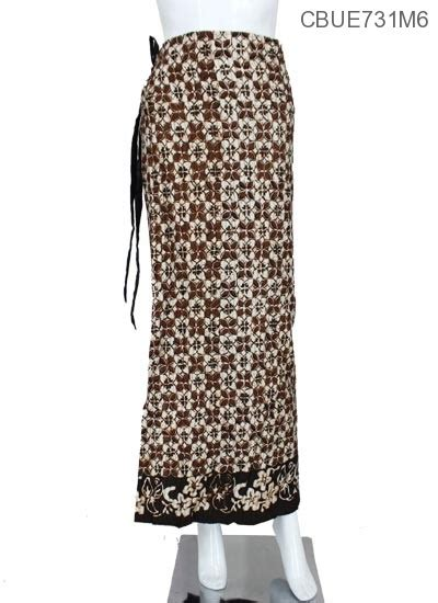 Rok Lipit rok lipit katun motif amuba sogan celana rok muslim murah batikunik