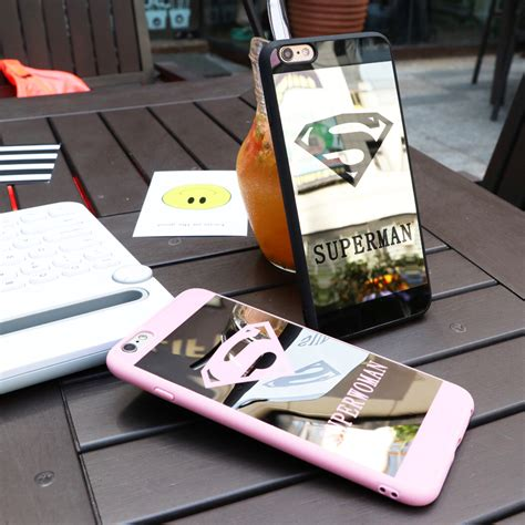 Tpu Mirror Chrome Iphone 6 6s Silicon Jelly Soft luxury lover mirror surface silicone tpu chrome for iphone 6s 6 7 plus 5 5s se superman