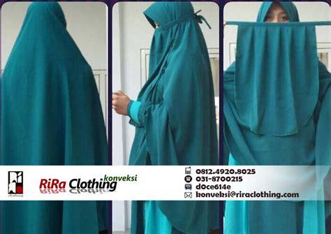 Konveksi Jilbab konveksi jilbab cadar riraclothing