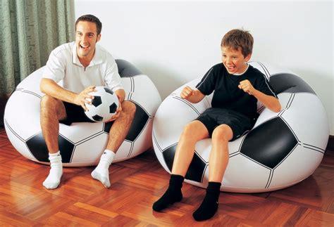 Sofa Angin Bentuk Bola sofa angin bentuk bola basket dan bola soccer produk