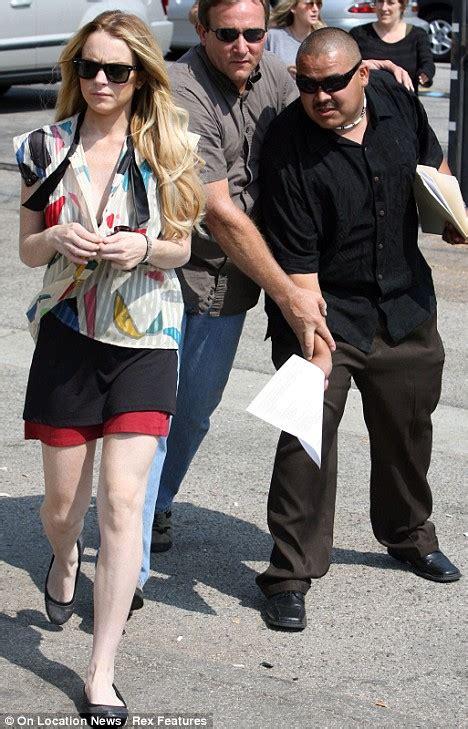 Lindsay Lohans Bodyguard Blasts Parents by Image Gallery Lindsay Lohan Bodyguard