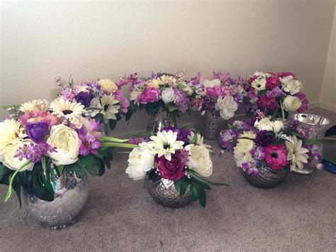 September 3 Wedding Centerpieces Silk Flowers diy silk flower centerpieces